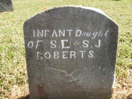 ROBERTS, INFANT DAUGHTER - Boone County, Arkansas | INFANT DAUGHTER ROBERTS - Arkansas Gravestone Photos