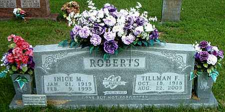 ROBERTS, INICE  MALISIA - Boone County, Arkansas | INICE  MALISIA ROBERTS - Arkansas Gravestone Photos