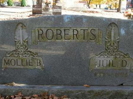 ROBERTS, JUIL D. - Boone County, Arkansas | JUIL D. ROBERTS - Arkansas Gravestone Photos