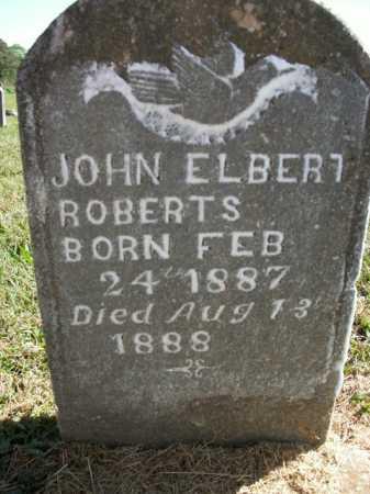 ROBERTS, JOHN ELBERT - Boone County, Arkansas | JOHN ELBERT ROBERTS - Arkansas Gravestone Photos
