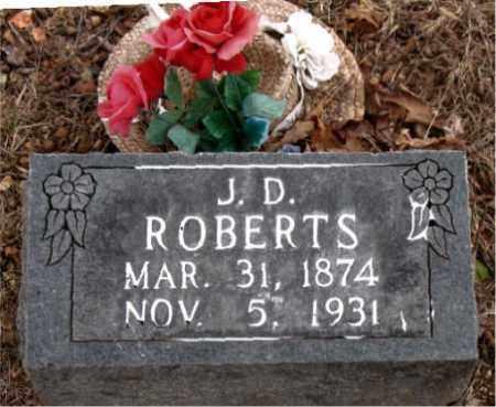 ROBERTS, J.  D. - Boone County, Arkansas | J.  D. ROBERTS - Arkansas Gravestone Photos