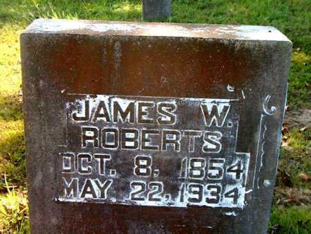 ROBERTS, JAMES  W. - Boone County, Arkansas | JAMES  W. ROBERTS - Arkansas Gravestone Photos