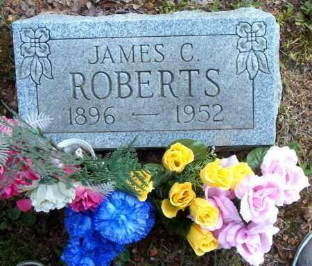 ROBERTS, JAMES C. - Boone County, Arkansas | JAMES C. ROBERTS - Arkansas Gravestone Photos