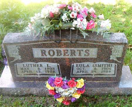 ROBERTS, LUTHER L - Boone County, Arkansas | LUTHER L ROBERTS - Arkansas Gravestone Photos