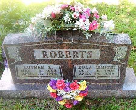 SMITH ROBERTS, EULA - Boone County, Arkansas | EULA SMITH ROBERTS - Arkansas Gravestone Photos