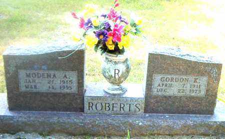 ROBERTS, GORDON  K. - Boone County, Arkansas | GORDON  K. ROBERTS - Arkansas Gravestone Photos