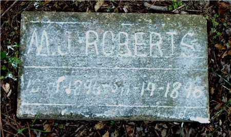 ROBERTS, M.  J. - Boone County, Arkansas | M.  J. ROBERTS - Arkansas Gravestone Photos