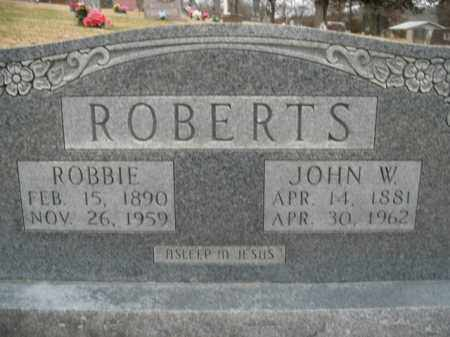 ROBERTS, ROBBIE - Boone County, Arkansas | ROBBIE ROBERTS - Arkansas Gravestone Photos