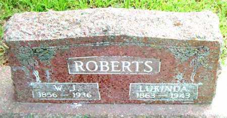 ROBERTS, SARAH LURINDA - Boone County, Arkansas | SARAH LURINDA ROBERTS - Arkansas Gravestone Photos