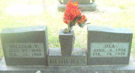 ROBERTS, WILLIAM  VERNER - Boone County, Arkansas | WILLIAM  VERNER ROBERTS - Arkansas Gravestone Photos
