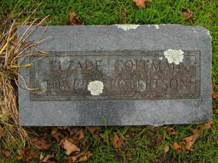 ROBERTSON, ELZADE - Boone County, Arkansas | ELZADE ROBERTSON - Arkansas Gravestone Photos