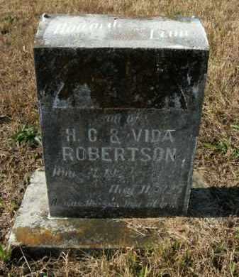 ROBERTSON, HOWARD LEON - Boone County, Arkansas | HOWARD LEON ROBERTSON - Arkansas Gravestone Photos