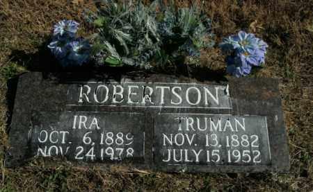 ROBERTSON, TRUMAN - Boone County, Arkansas   TRUMAN ROBERTSON - Arkansas Gravestone Photos