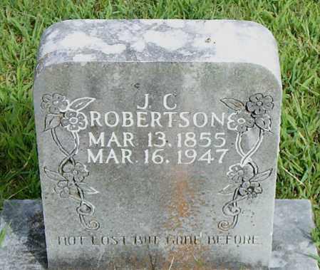 ROBERTSON, JOHN C. - Boone County, Arkansas | JOHN C. ROBERTSON - Arkansas Gravestone Photos