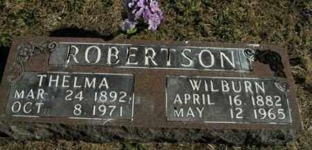ROBERTSON, WILBURN - Boone County, Arkansas   WILBURN ROBERTSON - Arkansas Gravestone Photos