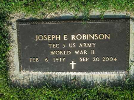 ROBINSON  (VETERAN WWII), JOSEPH E - Boone County, Arkansas | JOSEPH E ROBINSON  (VETERAN WWII) - Arkansas Gravestone Photos