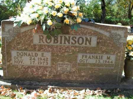 ROBINSON, DONALD EDWARD - Boone County, Arkansas | DONALD EDWARD ROBINSON - Arkansas Gravestone Photos