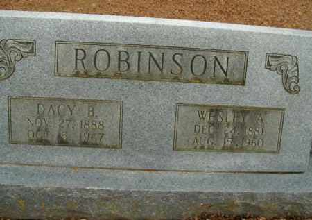 ROBINSON, WESLEY ALONZO - Boone County, Arkansas | WESLEY ALONZO ROBINSON - Arkansas Gravestone Photos