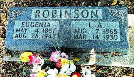 ROBINSON, EUGENIA - Boone County, Arkansas | EUGENIA ROBINSON - Arkansas Gravestone Photos