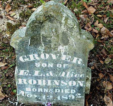 ROBINSON, GROVER - Boone County, Arkansas | GROVER ROBINSON - Arkansas Gravestone Photos