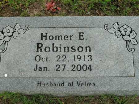 ROBINSON, HOMER E. - Boone County, Arkansas | HOMER E. ROBINSON - Arkansas Gravestone Photos