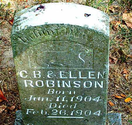 ROBINSON, INFANT DAUGHTER - Boone County, Arkansas | INFANT DAUGHTER ROBINSON - Arkansas Gravestone Photos