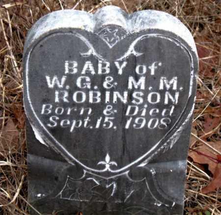 ROBINSON, INFANT - Boone County, Arkansas   INFANT ROBINSON - Arkansas Gravestone Photos