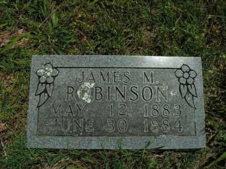 ROBINSON, JAMES M. - Boone County, Arkansas   JAMES M. ROBINSON - Arkansas Gravestone Photos
