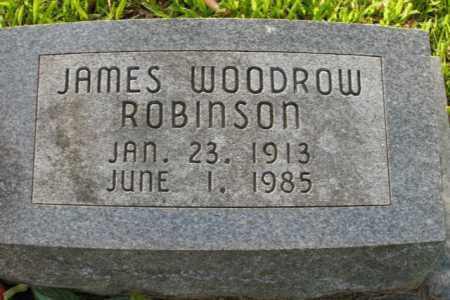 ROBINSON, JAMES WOODROW - Boone County, Arkansas | JAMES WOODROW ROBINSON - Arkansas Gravestone Photos