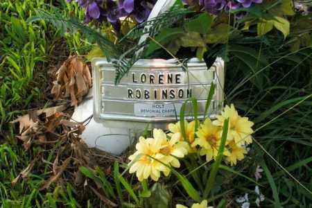 ROBINSON, LORENE - Boone County, Arkansas   LORENE ROBINSON - Arkansas Gravestone Photos