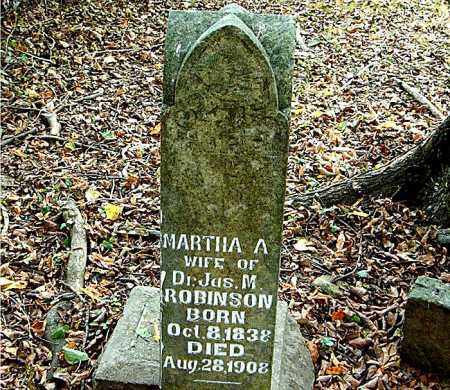 ROBINSON, MARTHA  A. - Boone County, Arkansas | MARTHA  A. ROBINSON - Arkansas Gravestone Photos
