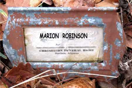 ROBINSON, MARION - Boone County, Arkansas | MARION ROBINSON - Arkansas Gravestone Photos