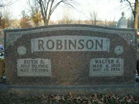 ROBINSON, RUTH E. - Boone County, Arkansas | RUTH E. ROBINSON - Arkansas Gravestone Photos