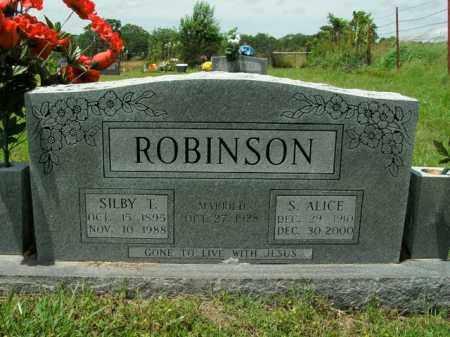 ROBINSON, SILBY TOM - Boone County, Arkansas | SILBY TOM ROBINSON - Arkansas Gravestone Photos