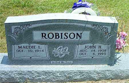 ROBISON, JOHN  H. - Boone County, Arkansas | JOHN  H. ROBISON - Arkansas Gravestone Photos