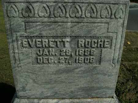 ROCHE, EVERETT - Boone County, Arkansas | EVERETT ROCHE - Arkansas Gravestone Photos