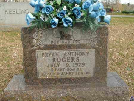 ROGERS, BRYAN ANTHONY - Boone County, Arkansas   BRYAN ANTHONY ROGERS - Arkansas Gravestone Photos
