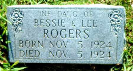ROGERS, INFANT DAUGHTER - Boone County, Arkansas | INFANT DAUGHTER ROGERS - Arkansas Gravestone Photos