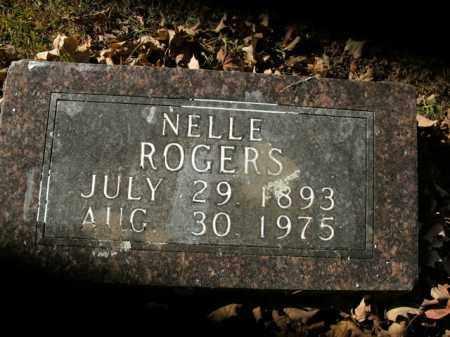 ROGERS, NELLE - Boone County, Arkansas | NELLE ROGERS - Arkansas Gravestone Photos