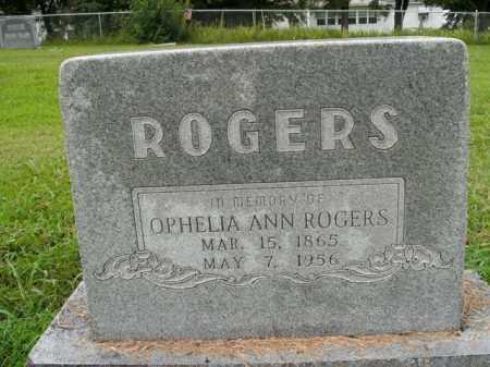 ROGERS, OPHELIA ANN - Boone County, Arkansas | OPHELIA ANN ROGERS - Arkansas Gravestone Photos