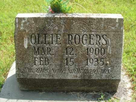 ROGERS, OLLIE - Boone County, Arkansas   OLLIE ROGERS - Arkansas Gravestone Photos
