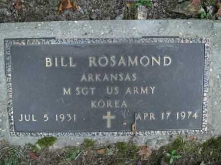 ROSAMOND  (VETERAN KOR), BILL - Boone County, Arkansas | BILL ROSAMOND  (VETERAN KOR) - Arkansas Gravestone Photos