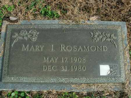 ROSAMOND, MARY I. - Boone County, Arkansas | MARY I. ROSAMOND - Arkansas Gravestone Photos