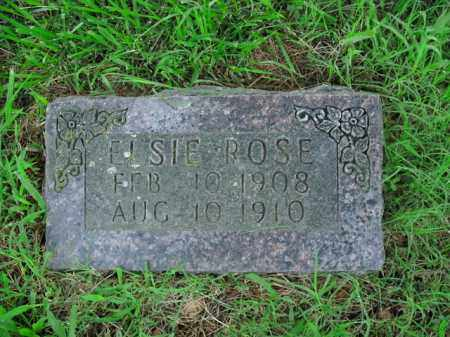 ROSE, ELSIE - Boone County, Arkansas | ELSIE ROSE - Arkansas Gravestone Photos