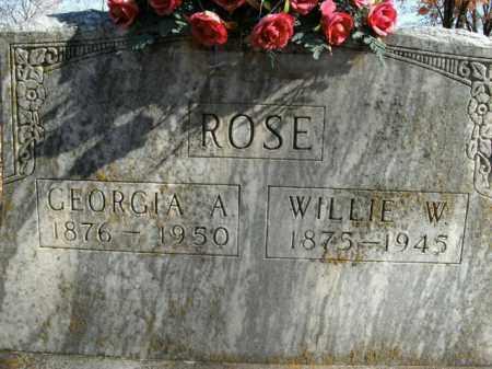 ROSE, GEORGIA A. - Boone County, Arkansas | GEORGIA A. ROSE - Arkansas Gravestone Photos