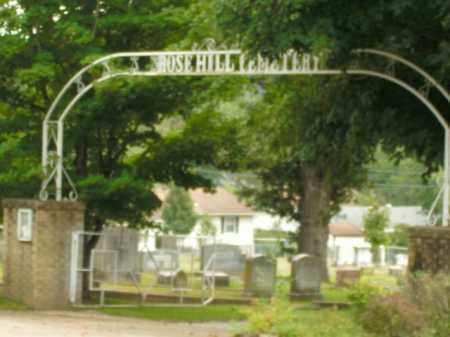 *ROSE HILL CEMETERY GATE,  - Boone County, Arkansas |  *ROSE HILL CEMETERY GATE - Arkansas Gravestone Photos