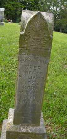 ROSE, MARY - Boone County, Arkansas | MARY ROSE - Arkansas Gravestone Photos