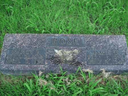 ROSE, NANCY E. - Boone County, Arkansas   NANCY E. ROSE - Arkansas Gravestone Photos