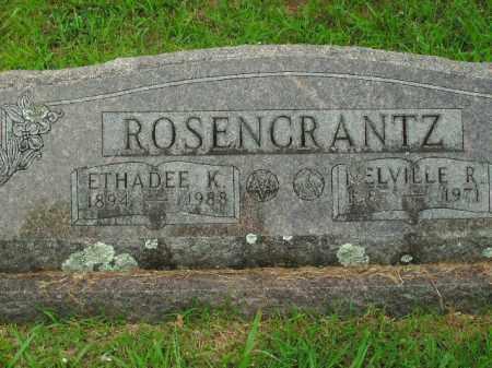 ROSENCRANTZ, MELVILLE R. - Boone County, Arkansas | MELVILLE R. ROSENCRANTZ - Arkansas Gravestone Photos