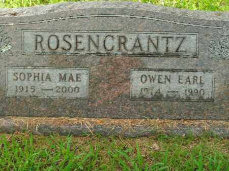 ROSENCRANTZ, OWEN EARL - Boone County, Arkansas | OWEN EARL ROSENCRANTZ - Arkansas Gravestone Photos